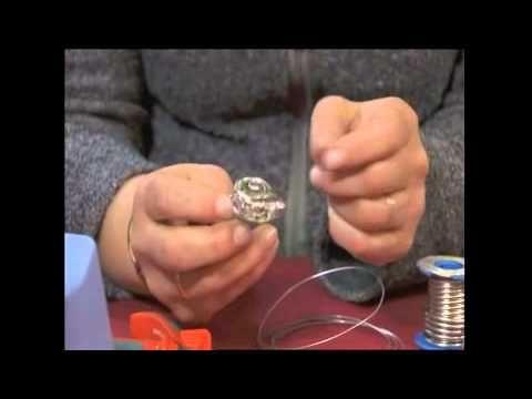 Letované šperky - Soldered jewelry - YouTube