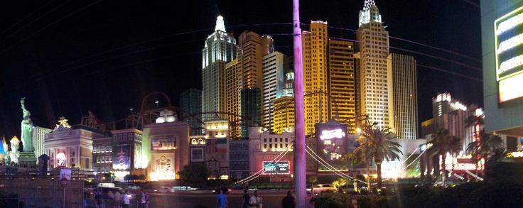 Las Vegas, New York...