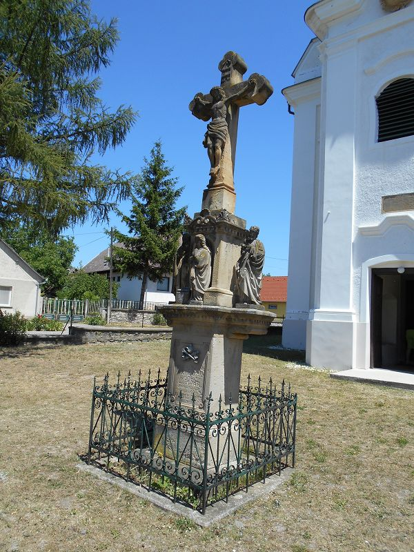 Kereszt, feszület (Zalahaláp) http://www.turabazis.hu/latnivalok_ismerteto_5066 #latnivalo #zalahalap #turabazis #hungary #magyarorszag #travel #tura #turista #kirandulas