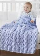... your downloadable Baby Blanket Knitting Pattern, click here: Bernat