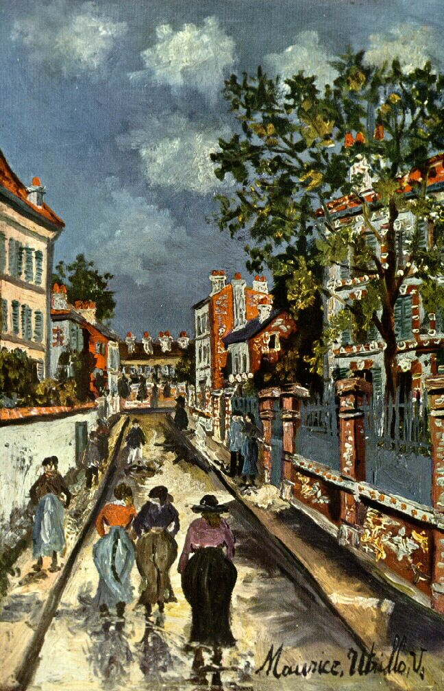 Maurice Utrillo, Street Scene (about 1925) Museum of Fine Arts, Boston