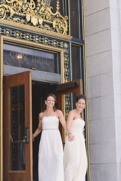 City Hall Wedding Inspiration: Celebrate At City Hall! (Photo By Annie Tao  Photography