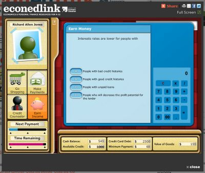 Econ Ed Link - Economics Lessons and Games