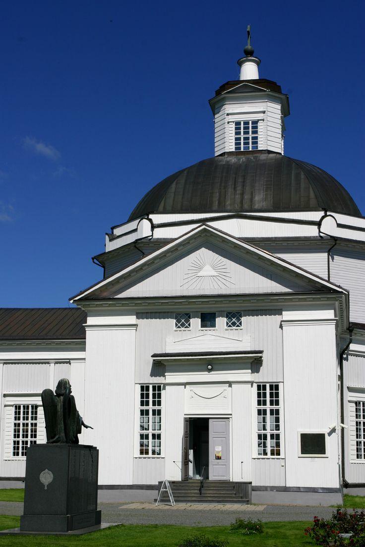 La cattedrale di Lapua nell'ovest della Finlandia