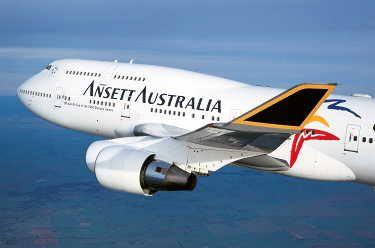 Ansett Australia B747-400 VH-ANA