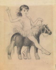 Лебедев В. В. Иллюстрация для буквы «Е» к книге С. Маршака «Живые буквы»