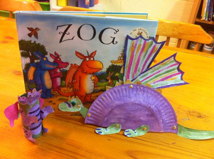 Zog dragon craft storytime craft pinterest for Dragon crafts pinterest