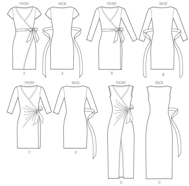 how to make a wrap around dress - Pesquisa Google