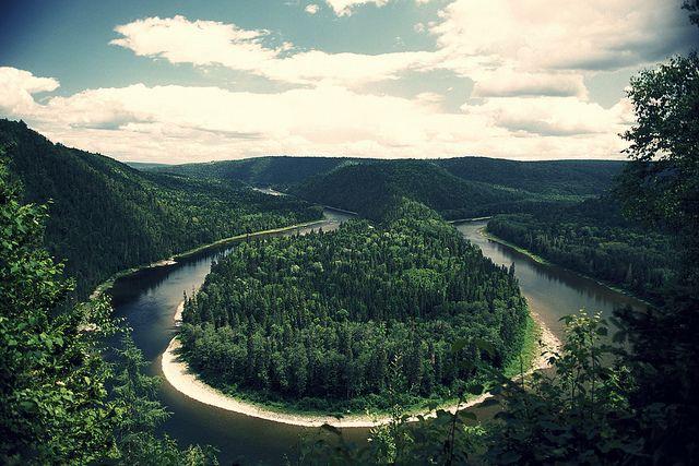 Restigouche River, New Brunswick, Canada.