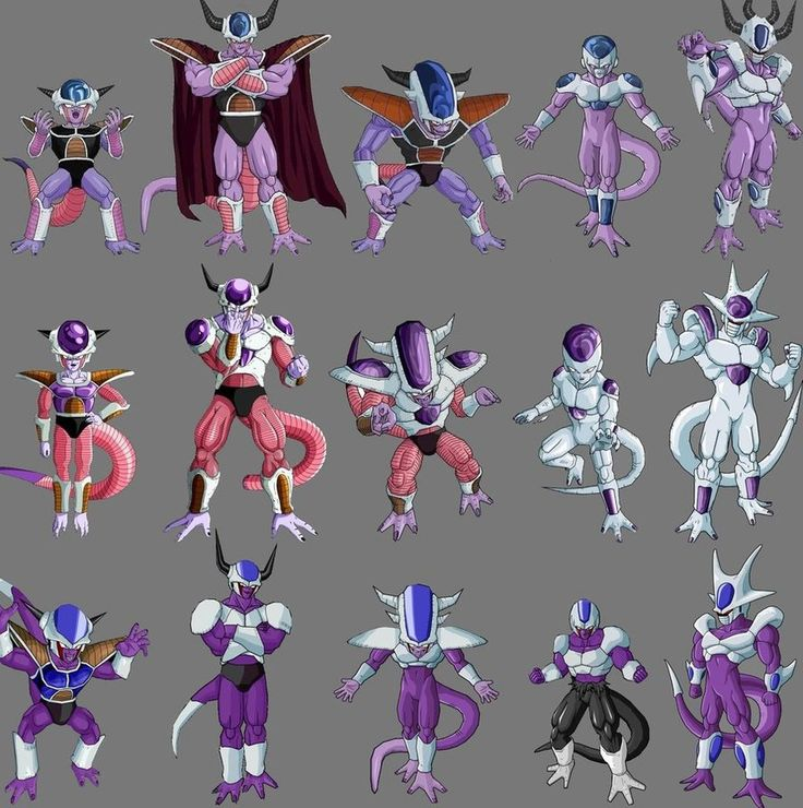 Frieza, Cooler and King Cold | Anime/ Animated | Pinterest ...