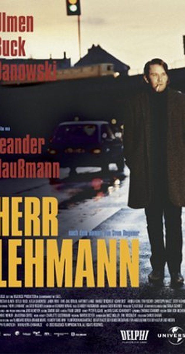 Directed by Leander Haußmann.  With Christian Ulmen, Katja Danowski, Detlev Buck, Janek Rieke. In October 1989, the part of the West Berlin borough of Kreuzberg called SO 36, had been largely shut off by the Wall from the rest of the city for 28 years. A lethargic sub-culture of students, artists, bohemians and barflys had flourished among crumbling buildings. Part of that microcosm is barkeeper Frank, semi-formally called 'Herr Lehmann' by friends and patrons. He hangs out drinking, ...