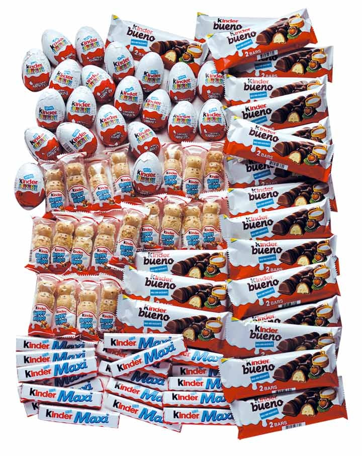 Kinder ..LOVE this brand! I even went to the Kinder factory as a kid in Italy.