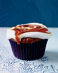 These supermoist, gluten-free cupcakes have terrific pumpkin flavor and an irresistible topping of fluffy, creamy frosting and golden caramel sauce. Slideshow: More Delicious Cupcakes