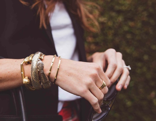 cuffs and bangles from @jfisherjewelry
