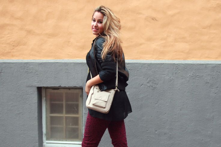 DAGENS ANTREKK // LEATHER IN THE RAIN! (wa2wo.blogg.no - Outfit, beauty and makeup by Jeanette Walayat)