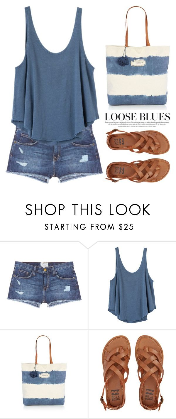 """Mar 22nd (tfp) 1217"" by boxthoughts on Polyvore featuring Current/Elliott, RVCA, Seafolly, Billabong and tfp"