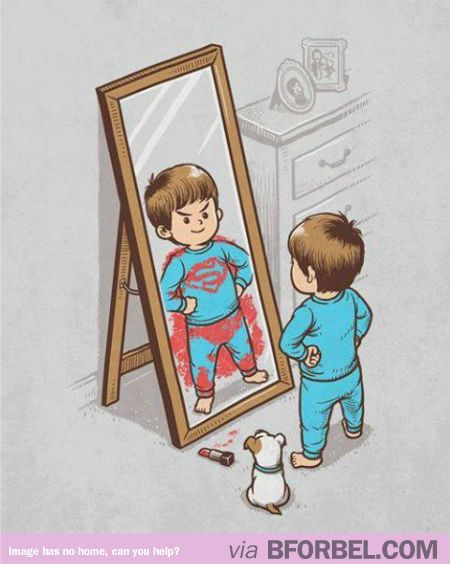 It's All About Who You See In The Mirror…