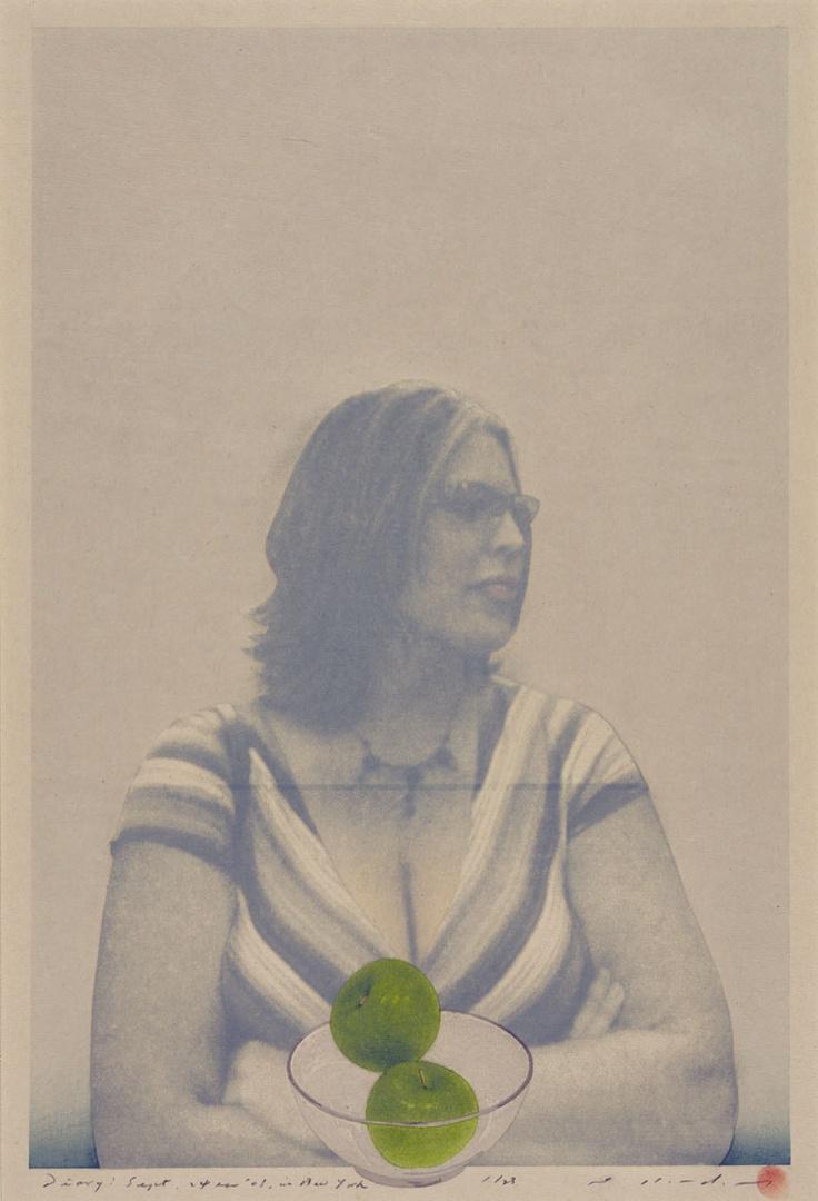 Title Diary; Sept 24th '03; in New York Artist Tetsuya Noda Year 2004 Process Woodblock/silkscreen Size 58x38cm