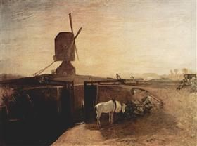 The big connection channel at Southall Mill - William Turner