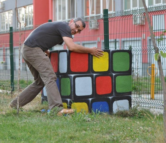 Rubik's Cube in ARED neighborhood, Arad