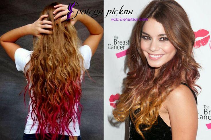 trend ombre - włosy