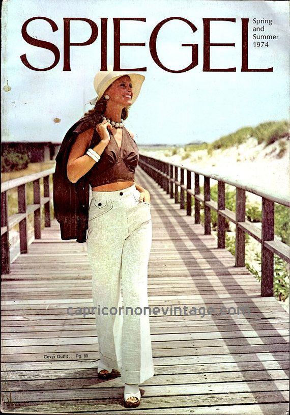 Vintage 1974 Spiegel Catalog Spring and Summer by CapricornOneEphemera, $25.00