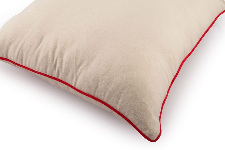 Solid Suede Cushion Cover with Contrast Piping by Suraaj Linens