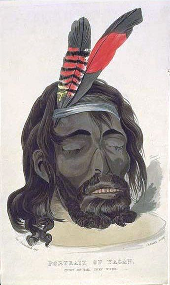 Editorial cartoon Yagan Yagan (/ˈjeɪɡən/; c. 1795 – 11 July 1833) was an Indigenous Australian warrior. From the Noongar people, he played a key part in early resistance to British settlement and rule in the area surrounding what is now Perth, Western Australia.