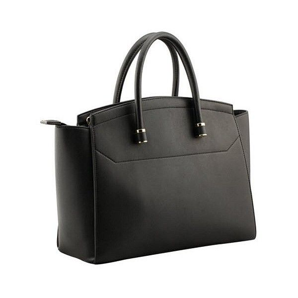 Black Square Shoulder Bowling Bag (110 CAD) ❤ liked on Polyvore featuring bags, handbags, square bag, bowling bags, black handbags, square purse и black bag