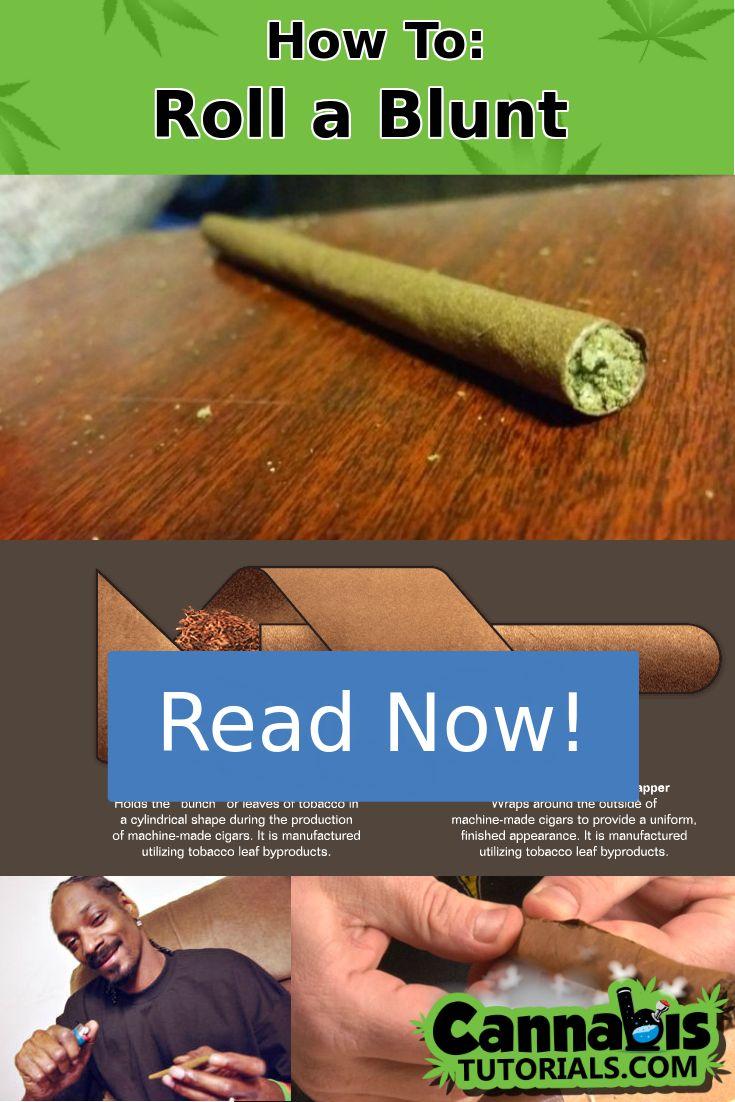 How To Roll a Blunt via @CannabisTuts