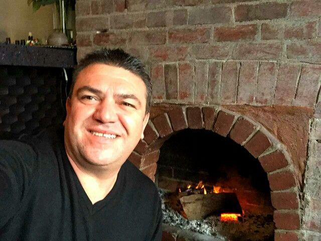 Papa Bear lighting the fire @mesagreekcuisine   Ph: 0394193388  E:admin@mesagreekcuisine.com.au  #livingsocial #melbournelife #melbourneeats #greekfoodmelbourne