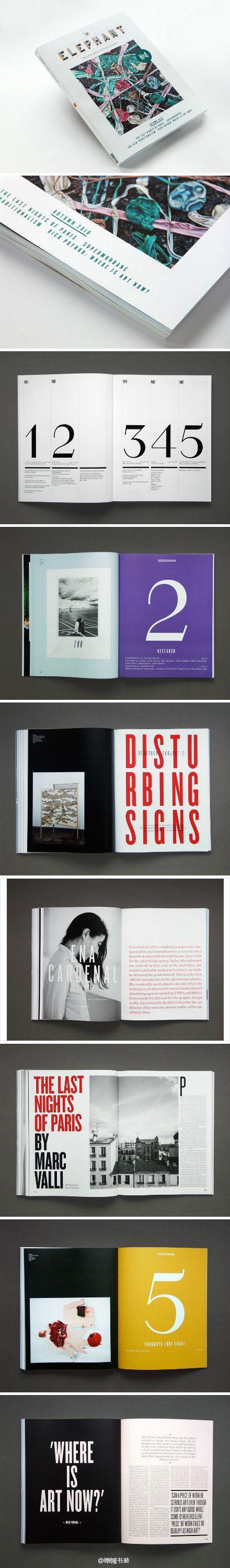Elephant Magazine — Designspiration