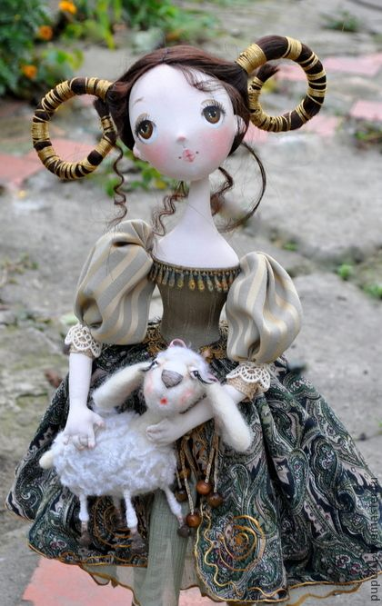 Collectible handmade doll--Aries.