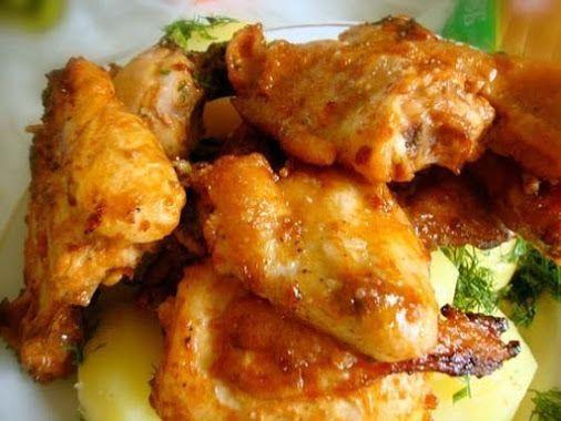 Золотистая курочка... Ингредиенты: 1 кг куриного мяса 2 ст. л. соевого соуса…