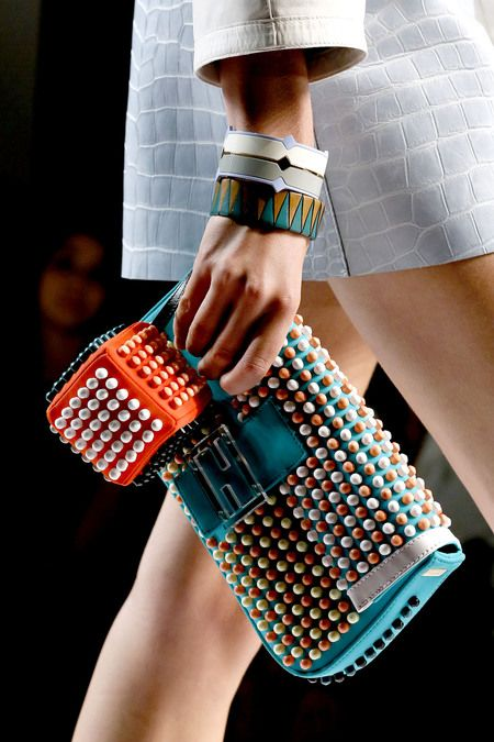 stitch pearls on a clutch