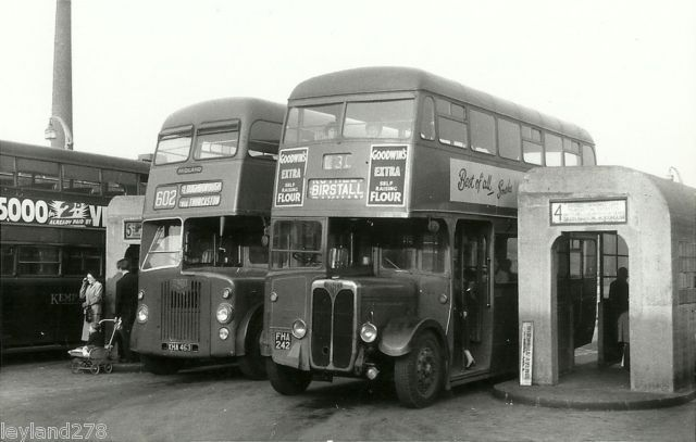 Midland Red buses, St Margaret's bus station, Leicester
