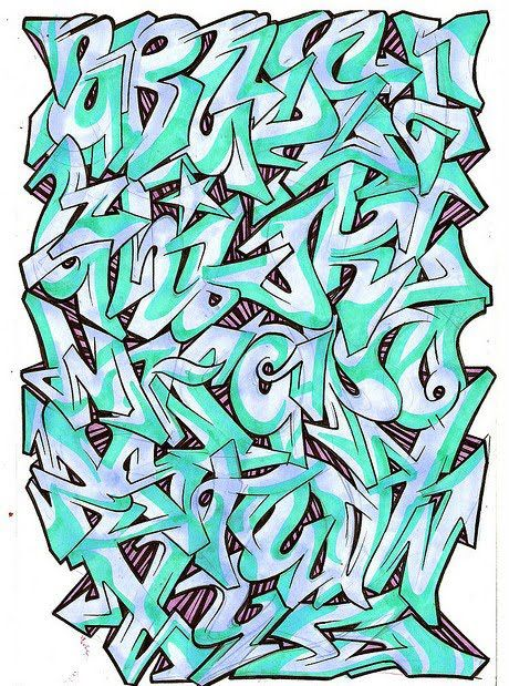 best of the best graffiti   9 graffiti alphabet designs