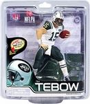 Tim Tebow (New York Jets) Manufacturer: McFarlane Toys Series: McFarlane Toys NFL Sports Picks Football Series 31 Action Figures Release Date: November 2012 For ages: 4 and up UPC: 787926756135