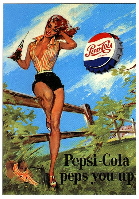Pepsi is pep                                                                                                                                                     More