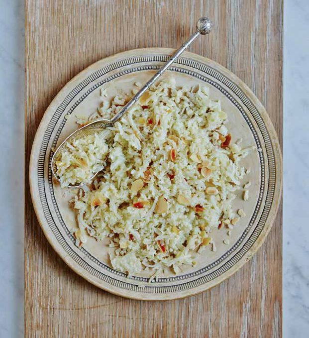 Pilaf-style Cauliflower Rice