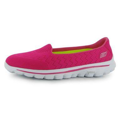 Skechers   Skechers Go Walk2 Ladies Shoes   Ladies Trainers