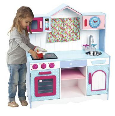 24 best cocinitas de juguete images on pinterest play kitchens 9 year olds and barbie home - Cocinita de madera imaginarium ...