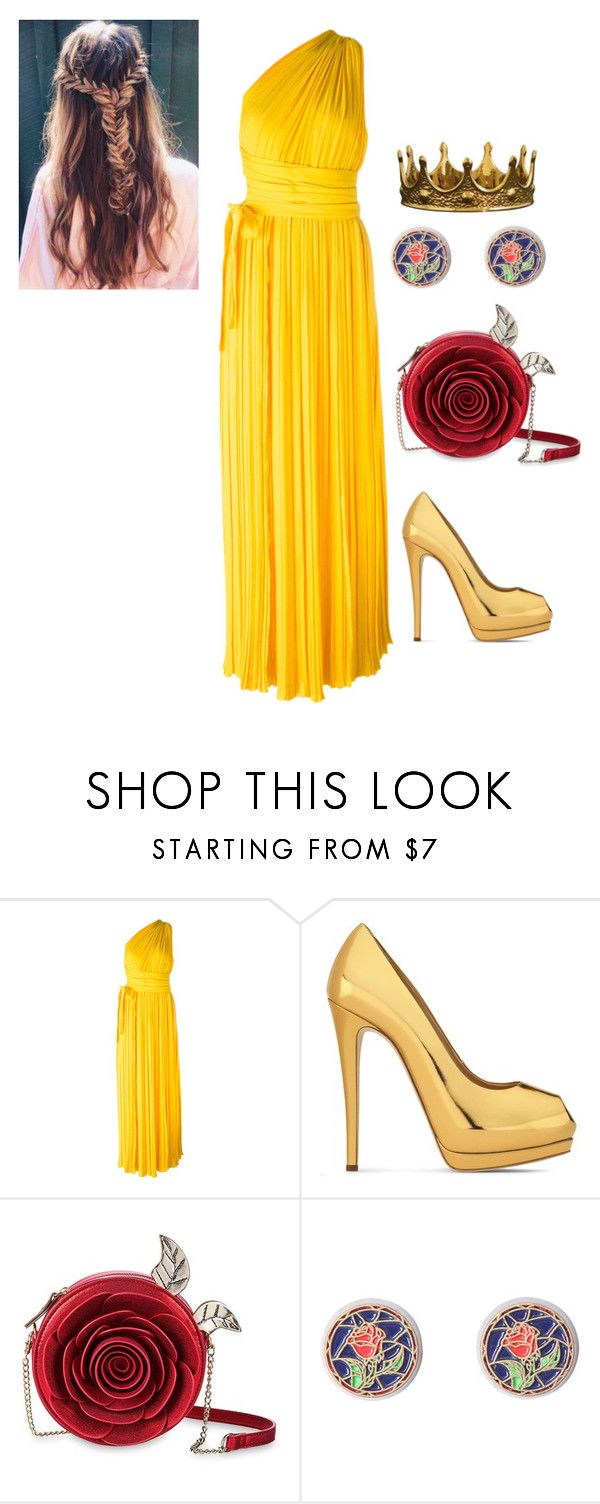 """Tale as old as time"" by belle13lee on Polyvore featuring Dsquared2, Giuseppe Zanotti, Disney and Seletti"