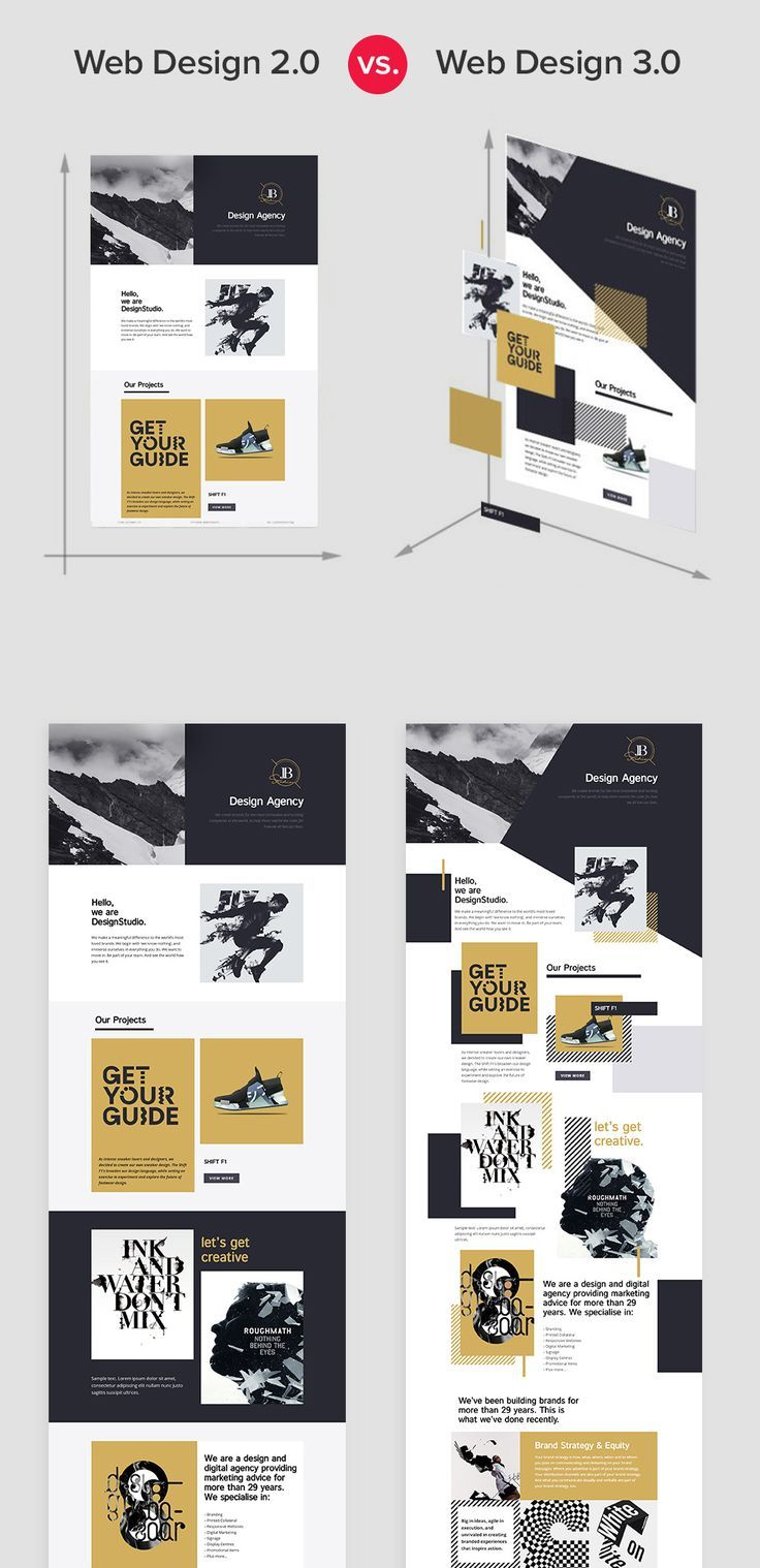 Business Infographic Web Design 2 0 Vs Web Design 3 0 Infographicnow Com Your Number One Source For Daily Infographics Visual Creativity Simple Website Design Web Design Black Web Design