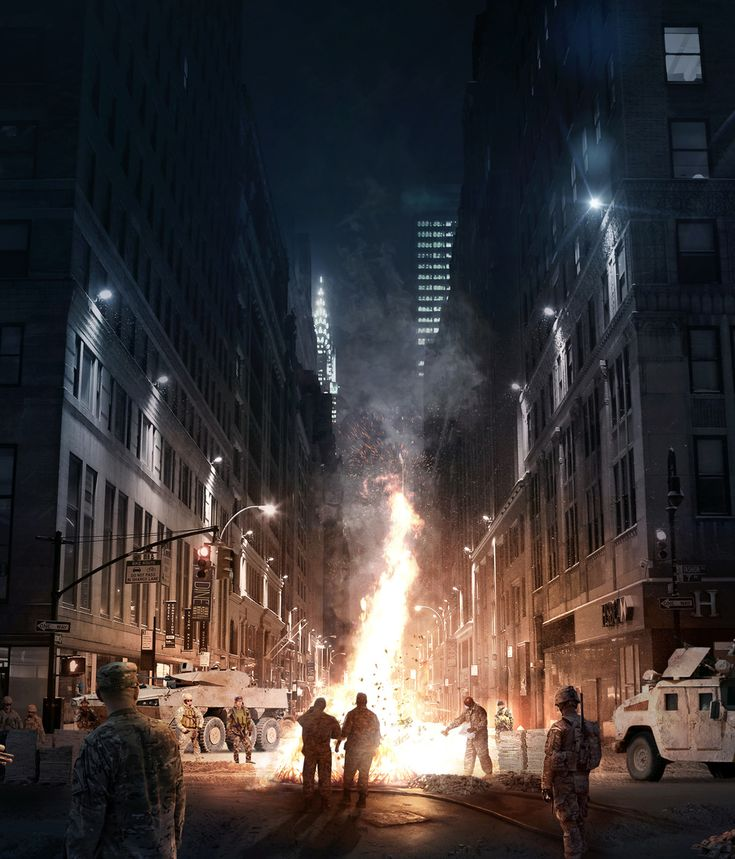 The Division - Concept art by Laurent Menabe | Matte Painting | 2D | CGSociety