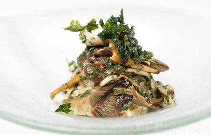 Risotto Milanese - Mushroom Risotto Recipe - Great British Chefs