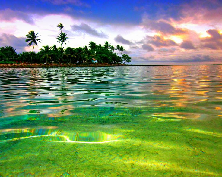 Marshall Islands, the birthplace of my father. Would love to see it some day. Small chain of islands in the pacific. Considered to be part of Micronesia,  and is where the U.S tested nuclear bombs. Most famous island part of the M.I known for testing is Bikini.
