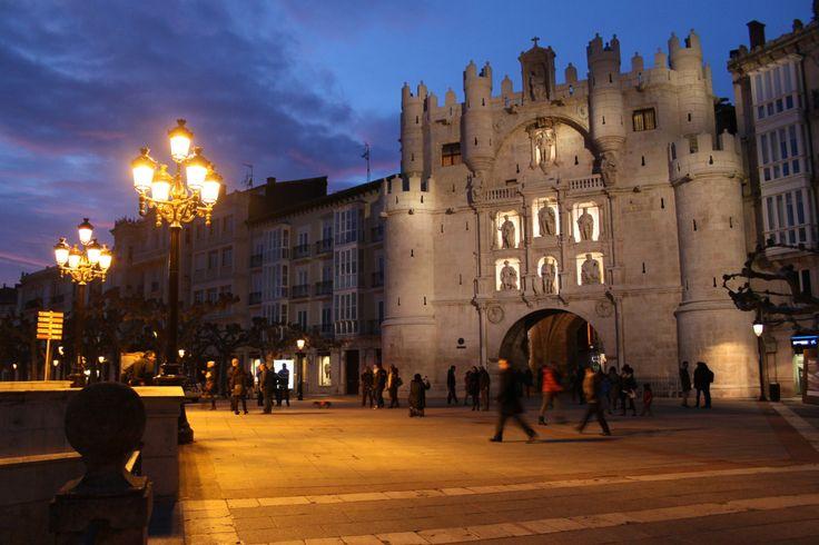 Arco de Santa María, Burgos, Camino de Santiago