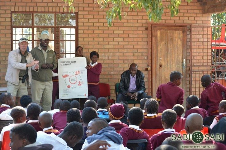 Today, Management and staff from Sabi Sabi engaged in the first of many Rhino Awareness talks with the local schools. This is the beginning of an educational programme where we aim to advise children at a young age already the importance of conservation and how poaching can affect their immediate environment. Cremson, Yvonne, Andre and Hugo delivered this message in a fun and entertaining way, yet with a stern message. Thank you to all who made this possible. Newsletter with details to…