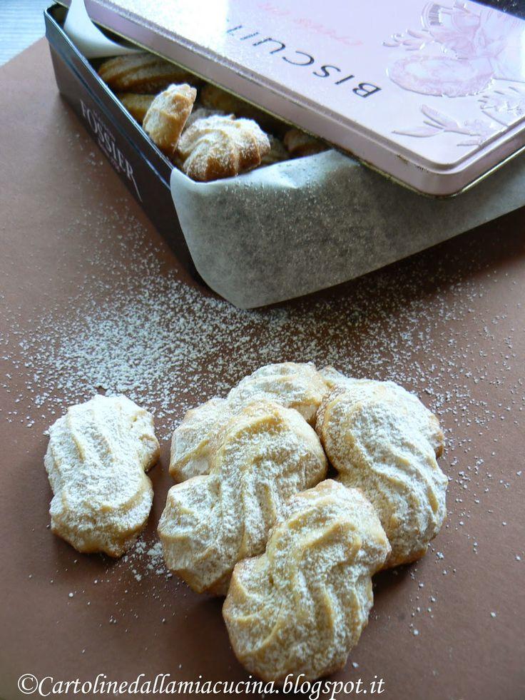 Cartoline dalla mia Cucina: Biscottini alla philadelphia e limone